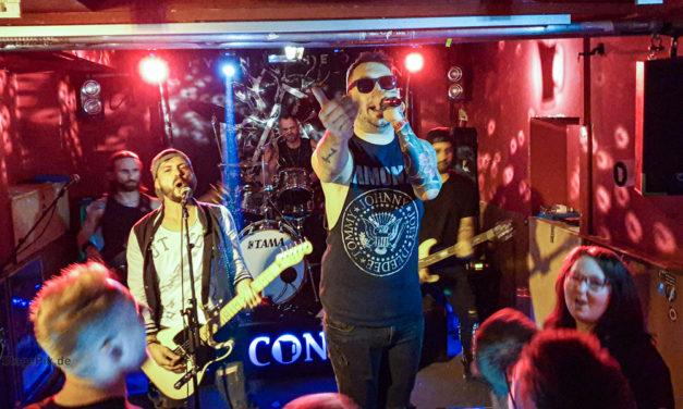 Living Theory Worldwide Linkin Park tribute – Live im Düsseldorfer Pitcher