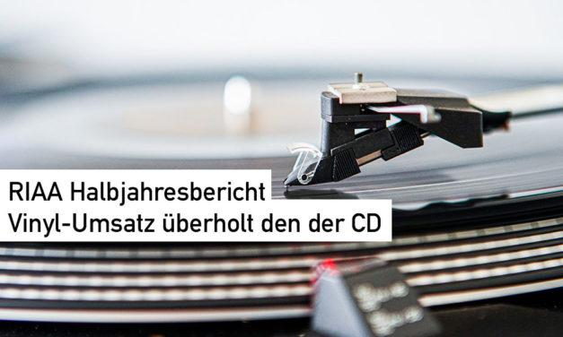 Back to the Roots. Vinyl löst nach Umsatz in den USA die CD ab.