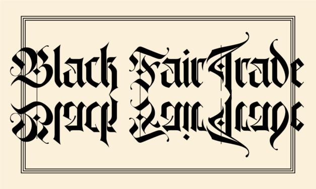 Merch-Shopping – Black Friday? BLACK Fair trade!