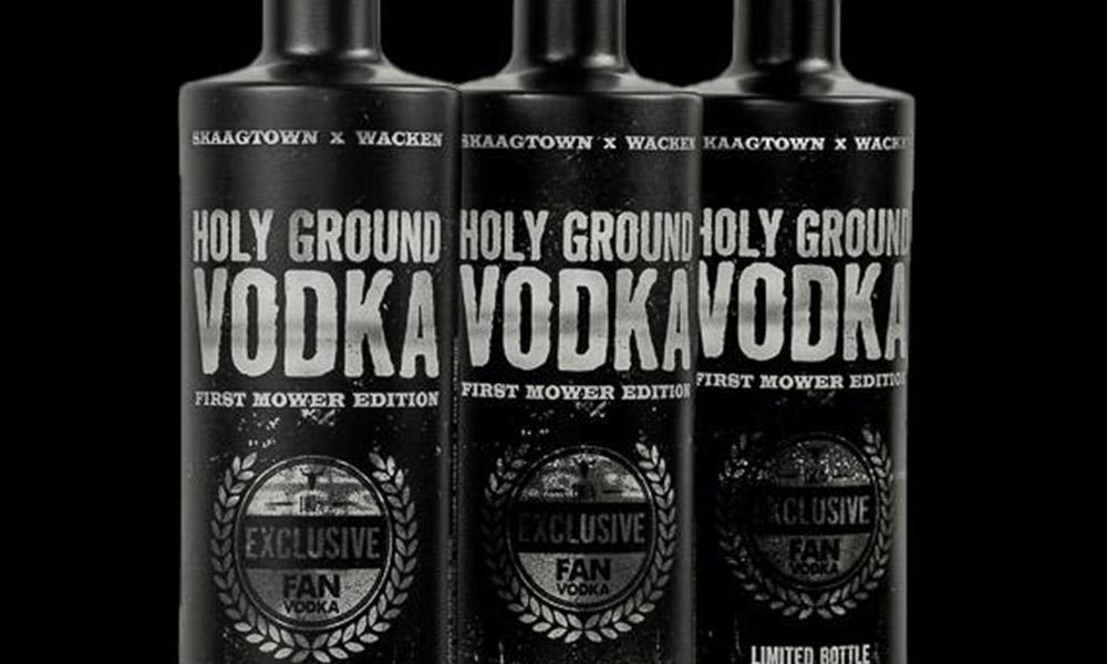 Wacken Vodka – 5.000 Flaschen für n guten Zweck