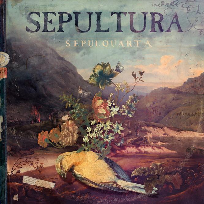 CD-Cover: Sepultura - sepulquarta, Quelle: www.nuclearblast.de