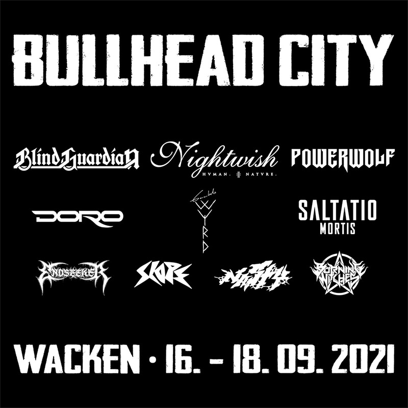 BULLHEAD CITY lineup, Quelle: www.wacken.com