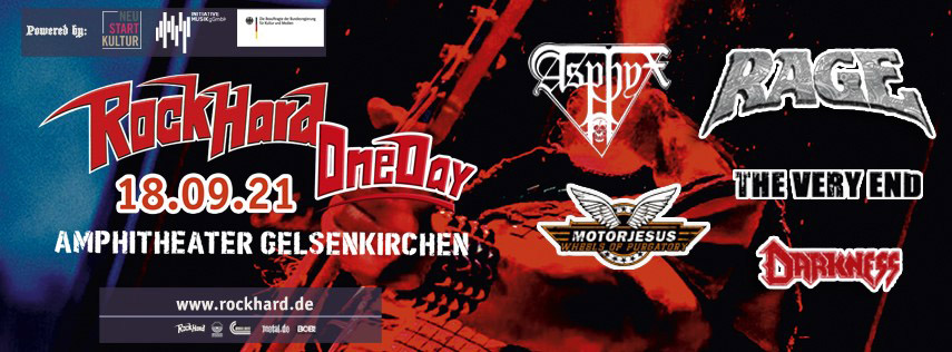 Festivalflyer Rock Hard One Day 2021, Quelle: www.rockhard.de