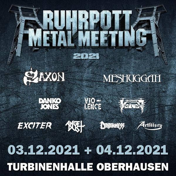 Ruhrpott Metal Meeting 2021 Festival Flyer, Quelle: www.ruhrpott-metal-meeting.de